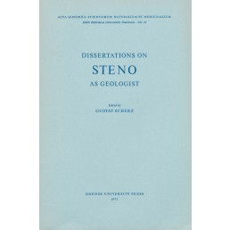 Gustav Scherz (ed.): Dissertations on Steno as geologist