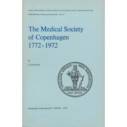 The Medical Society of Copenhagen 1772-1972
