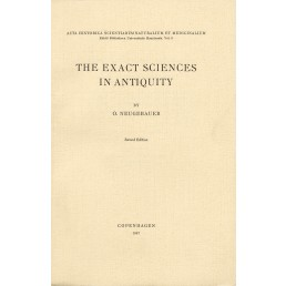 O. Neugebauer: The exact sciences in Antiquity