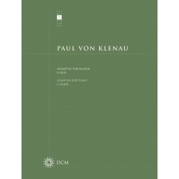 Paul von Klenau: Sonatine for klaver e-dur